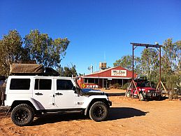Australian 4x4 tag Along Tours at Mt Dare Hotel