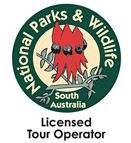 South Australia national Parks & Wildlife Licenced Tour Operator Logo
