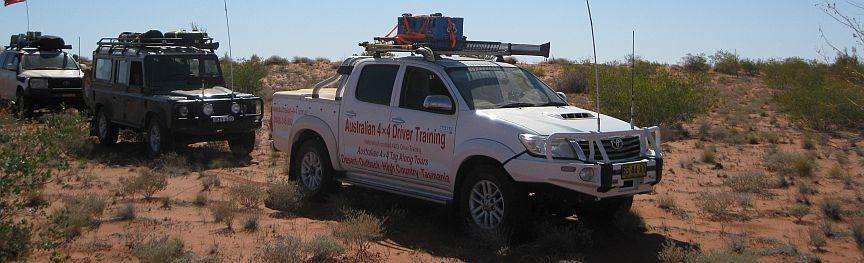Hilux on Hay River 4wd tag along tour with Australian 4x4 Tag Along Tours