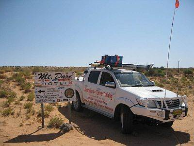 Australian 4x4 Tag Along Tours on the K1 Line Simpson Desert