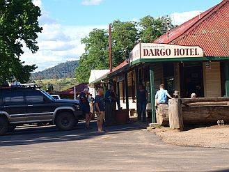 dargo hotel on australian 4x4 tag along tour to the Victorian High Country