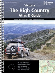 High Country Atlas and Guide by Hema Maps