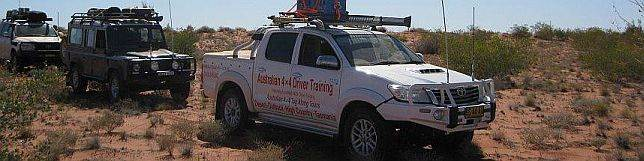 Hilux on Never Never Track with Austyralian 4x4 Tag Along Tours