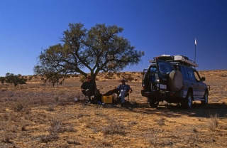 in the shade simpson desert image