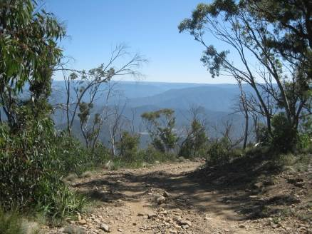 views from billy goat bluff on Australian 4x4 Tag Along Tours trip