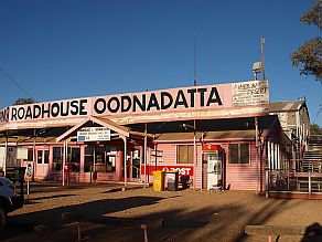 The Pink Roadhouse, Oodnadatta, South Australian Outback