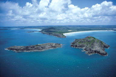 aerial picture of cape york