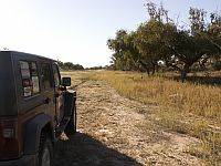 Jeep Wrangler on an Australian 4x4 Tag Along Tours Madigan Line 4wd Tag Along Tour